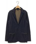 ()の古着「2Bニットジャケット」|ネイビー