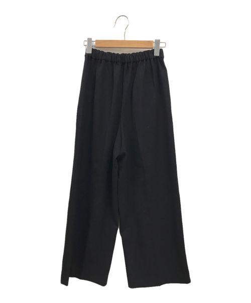 ENFOLD(エンフォルド)ENFOLD (エンフォルド) ワイドパンツ ブラック サイズ:36の古着・服飾アイテム