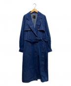 ROSSO(ロッソ)の古着「デニムコート」 インディゴ