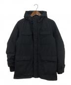 HERNO()の古着「フーデッドダウンジャケット」|ブラック