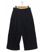 SHINYA KOZUKA(シンヤコズカ)の古着「バギーパンツ」|ブラック