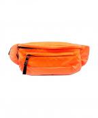 PRADA(プラダ)の古着「19SS ナイロンウエストポーチ」|オレンジ
