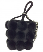 ALEXANDER WANG(アレキサンダーワン)の古着「ロキシーミニハンドバッグ」 ブラック