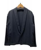 ()の古着「ジャパンポリショールカラージャケット」|ブラック