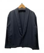 Comptoir des Cotonniers(コントワー・デ・コトニエ)の古着「ジャパンポリショールカラージャケット」|ブラック
