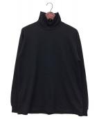 ()の古着「タートルネックカットソー」|ブラック