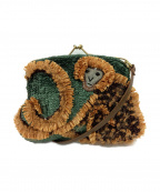 JAMIN PUECH(ジャマンピュエッシュ)の古着「ショルダーバッグ」 グリーン