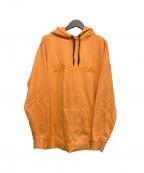 LEFLAH(レフラー)の古着「プルオーバーパーカー」|オレンジ