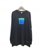 LEFLAH(レフラー)の古着「ロングスリーブカットソー」|ブラック