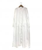 HARVESTY(ハーベスティー)の古着「アトリエローブ」 ホワイト