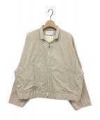 ()の古着「フライトジャケット」|ベージュ