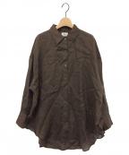 Lisiere(リジェール)の古着「RAMIEシャツ」|ブラウン