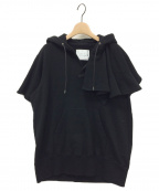 sacai(サカイ)の古着「プルオーバーパーカー」|ブラック