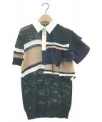 ()の古着「シャツ」|グリーン