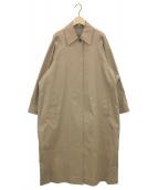 MUSE de Deuxieme Classe(ミューズ ドゥーズィエム クラス)の古着「Nancyステンカラーコート」|ベージュ