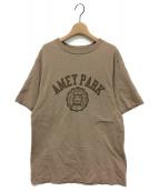 ()の古着「AMEY PARK Tシャツ」|ブラウン