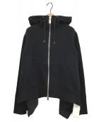 ()の古着「ジップパーカー」|ブラック