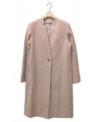 ()の古着「コート」|ピンク