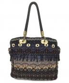 JAMIN PUECH(ジャマンピュエッシュ)の古着「刺繍トートバッグ」