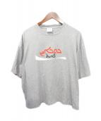 ()の古着「20AW プリントTシャツ」|グレー