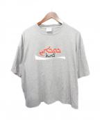 VETEMENTS(ヴェトモン)の古着「20AW プリントTシャツ」|グレー