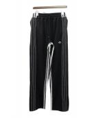adidas(アディダス)の古着「トラックパンツ」 ブラック