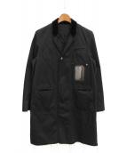 UNDERCOVER(アンダーカバー)の古着「カットオフチェスターコート」|ブラック