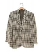 ()の古着「[OLD]ツイードテーラードジャケット」|ベージュ