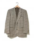 Christian Dior MONSIEUR(クリスチャンディオールムッシュ)の古着「[OLD]ツイードテーラードジャケット」|ベージュ