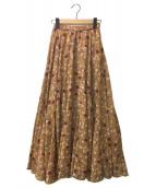 MARIHA(マリハ)の古着「月影のスカート」|ベージュ