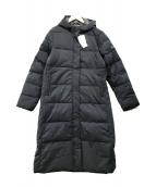 ()の古着「ダウンコート」 ブラック