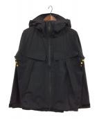 ()の古着「2.5レイヤーシェルジャケット」 ブラック