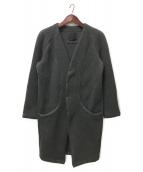 OURET(オーレット)の古着「ウールコート」|グレー