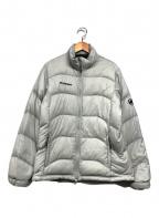 MAMMUT()の古着「ダウンジャケット」|ライトグレー