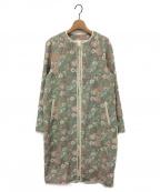 REKISAMI(レキサミ)の古着「ノーカラーコート」