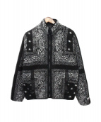 ()の古着「Reversible Bandana Fleece Jack」|ブラック