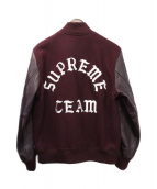 SUPREME(シュプリーム)の古着「15AW Wool Varsity Crew Jacket」|ボルドー