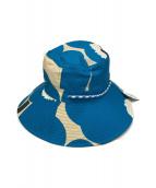 marimekko(マリメッコ)の古着「サファリハット」|ブルー