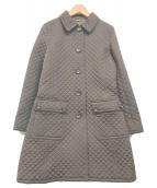 ()の古着「キルティングコート」 ブラウン