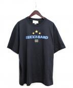 GUCCI(グッチ)の古着「20SS GUCCI BAND Tシャツ」|ブラック