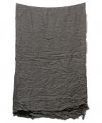 FALIERO SARTI(ファリエロサルティ)の古着「モダールカシミヤ大判ストール」|モカ