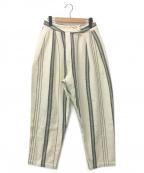 SEEALL(シーオール)の古着「カディコットンリラックスパンツ」 オフホワイト