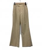 AEWEN MATOPH(イウエン マトフ)の古着「ストライプパンツ」 アイボリー