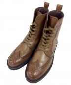TODS(トッズ)の古着「ウィングチップブーツ」|ブラウン