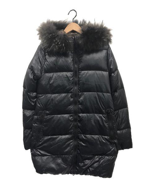 DUVETICA(デュベティカ)DUVETICA (デュベティカ) KAPPA/ファー付ダウンコート ネイビー サイズ:42の古着・服飾アイテム