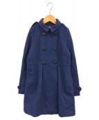 BURBERRY CHILDREN(バーバリー チルドレンズ)の古着「コート」|ブルー