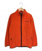 POLO SPORT(ポロスポーツ)の古着「フリースジャケット」 オレンジ