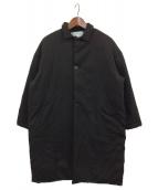 Dulcamara(ドゥルカマラ)の古着「ダウンビッグコート」|ブラック