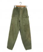 ticca(ティッカ)の古着「カーゴワイドパンツ」|オリーブ