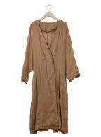 HERENCIA()の古着「ブラウスワンピース」|ブラウン